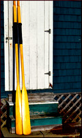 Oars against the Boathouse